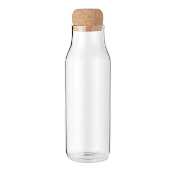 Szklana butelka z korkiem 1L